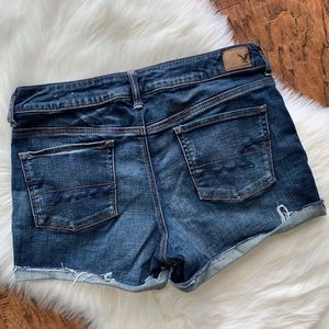 American Eagle Stretch Denim Jean Shorts size 12